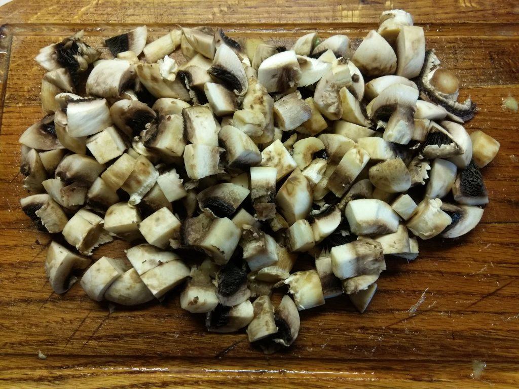 Фото рецепта - Постное рагу из кабачков и шампиньонов - шаг 2