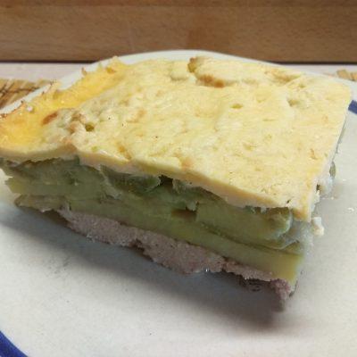 Запеканка овощная со свиным фаршем - рецепт с фото