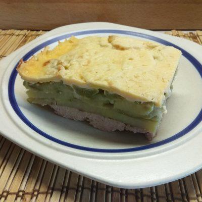 Фото рецепта - Запеканка овощная со свиным фаршем - шаг 7