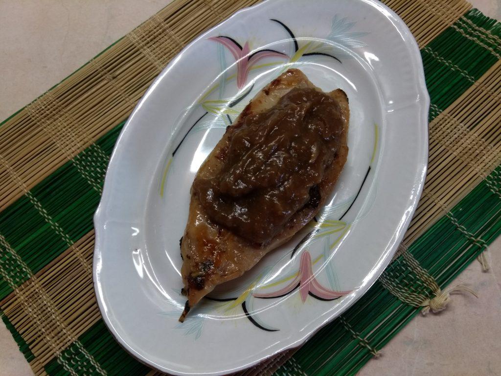 Фото рецепта - Жареные стейки зубатки в имбирно-соевом маринаде - шаг 5