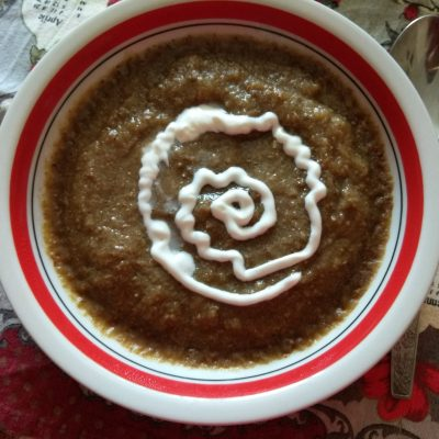 Крем-суп из лесных грибов - рецепт с фото