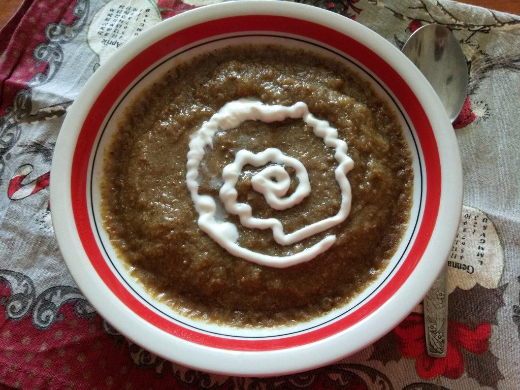 Фото рецепта - Крем-суп из лесных грибов - шаг 5