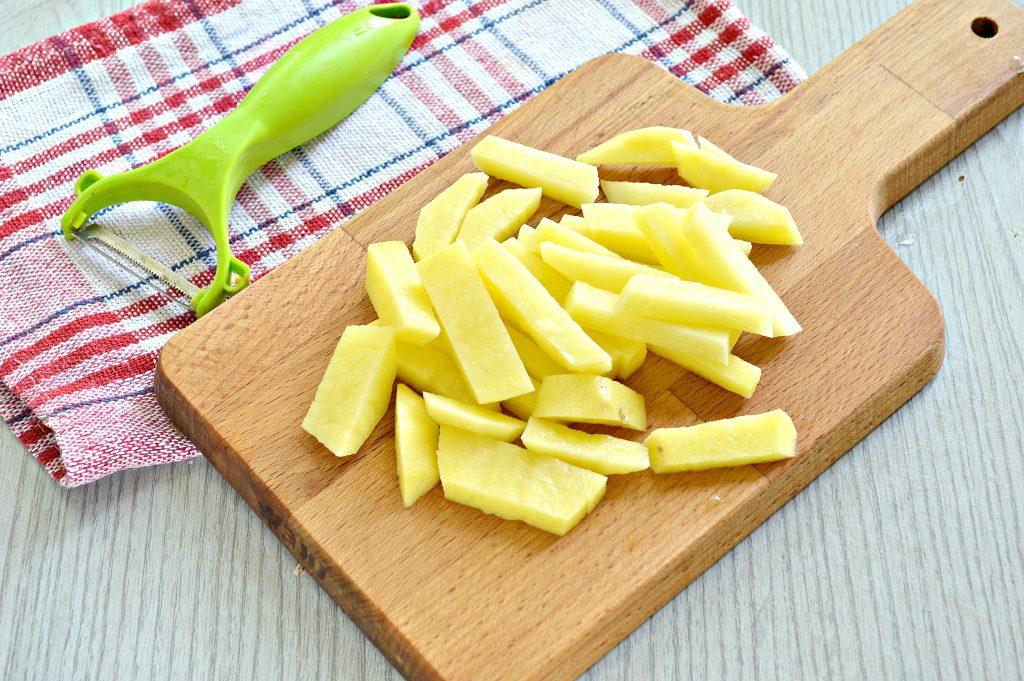 Фото рецепта - Куриный суп с овсяными хлопьями - шаг 1