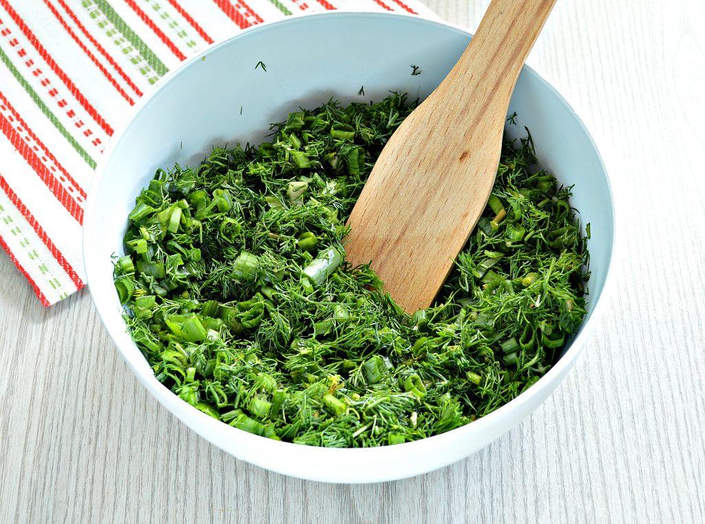 Фото рецепта - Зелень на зиму (2 способа) - шаг 2