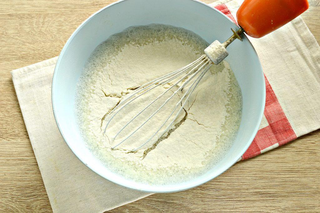 Фото рецепта - Тонкие блинчики на воде для фаршировки - шаг 4