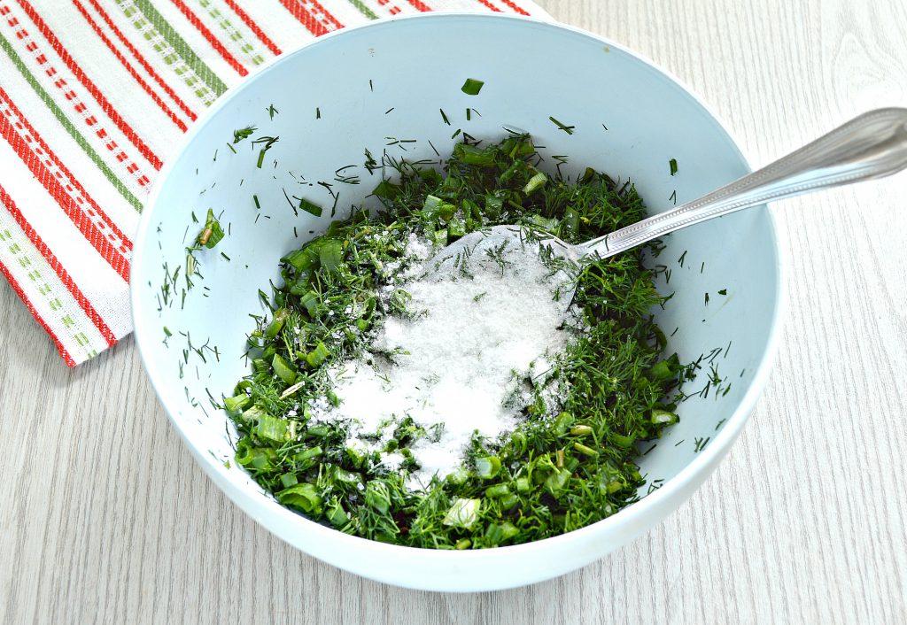 Фото рецепта - Зелень на зиму (2 способа) - шаг 4