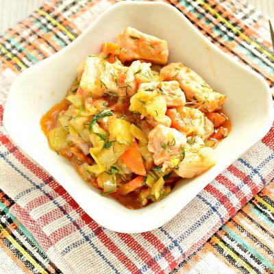 Овощное рагу со свининой - рецепт с фото