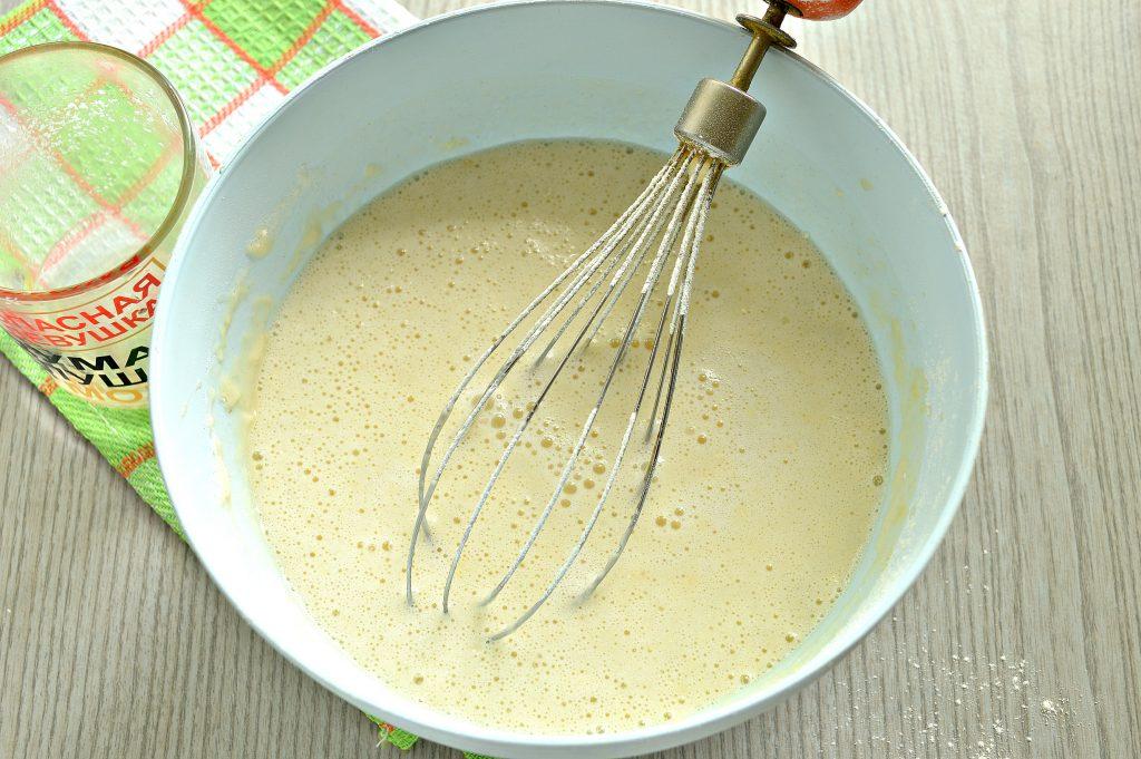 Фото рецепта - Заварные блинчики на скисшем молоке и кипятке - шаг 6