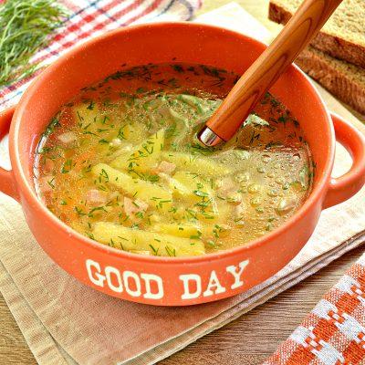Вермишелевый суп с колбасой - рецепт с фото