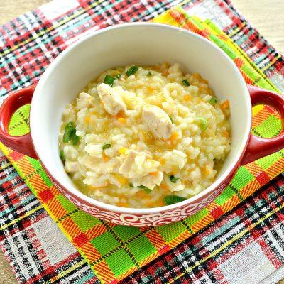 Рисовая каша с курицей - рецепт с фото