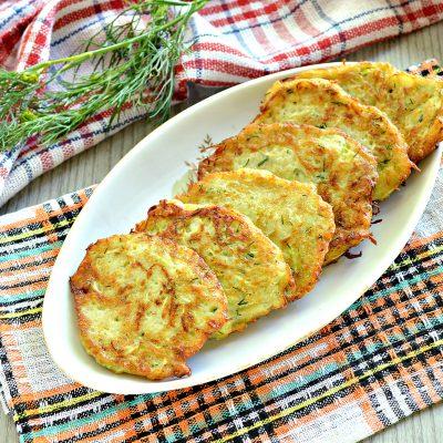 Картофельные драники с кабачком - рецепт с фото
