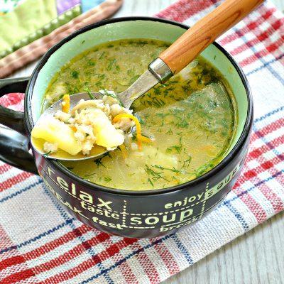 Куриный суп с овсяными хлопьями - рецепт с фото
