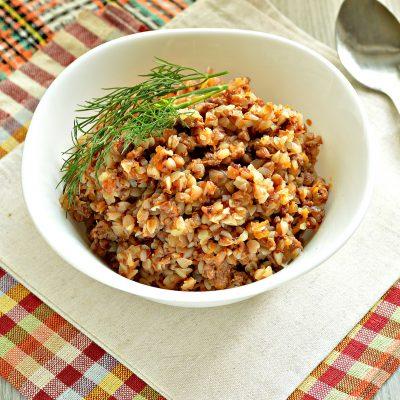Гречка по-купечески с мясным фаршем - рецепт с фото