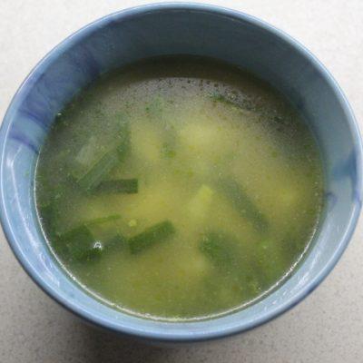Суп с молодым картофелем и сочными фрикадельками - рецепт с фото