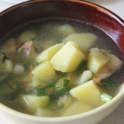 Суп с горбушей и пшеном - рецепт с фото