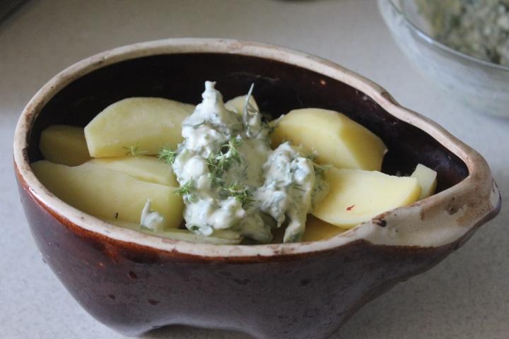 Фото рецепта - Мятный соус к овощам для запекания - шаг 7
