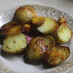 Молодой картофель в фольге в духовке