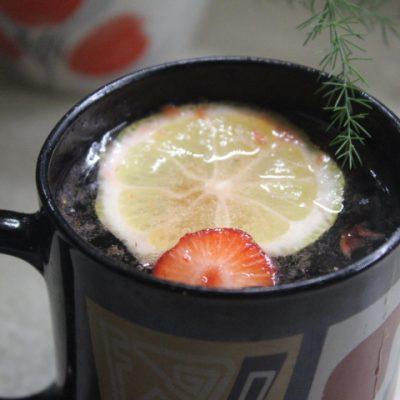 Клубнично-базиликовый лимонад - рецепт с фото