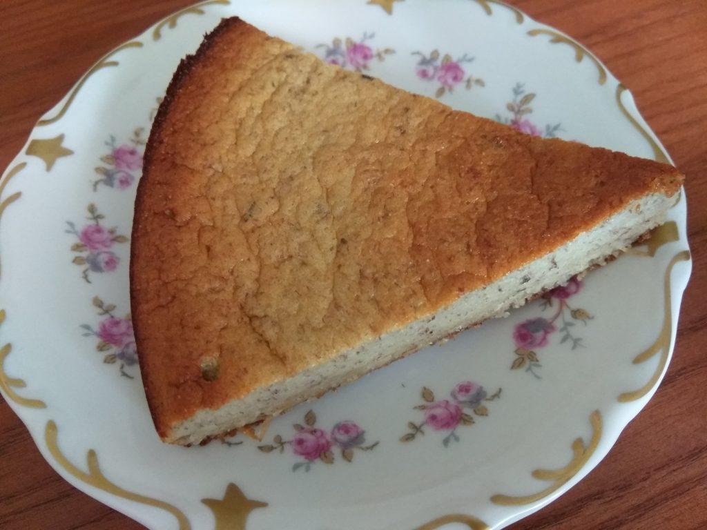Фото рецепта - Банановый пирог на манке и молоке - шаг 7