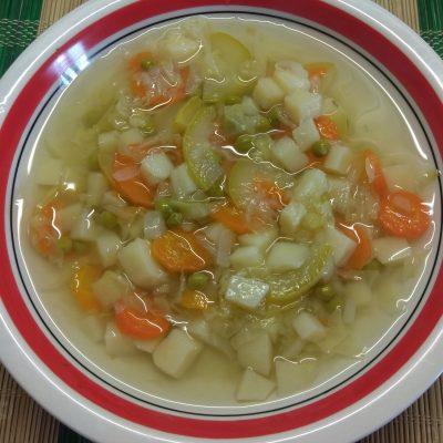 Овощной суп на сыворотке - рецепт с фото