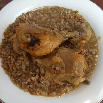 Куриные ножки в медово-горчичном маринаде, в пакете - рецепт с фото