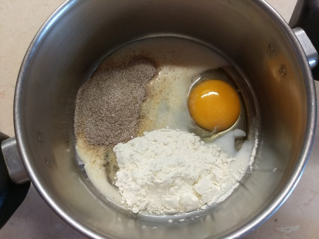Фото рецепта - Кекс в чашке со вкусом амаретто - шаг 1