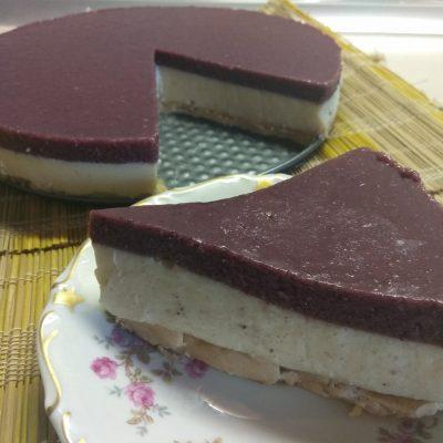 Десерт из соевого молока с шелковицей - рецепт с фото