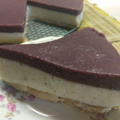 Фото рецепта - Десерт из соевого молока с шелковицей - шаг 7