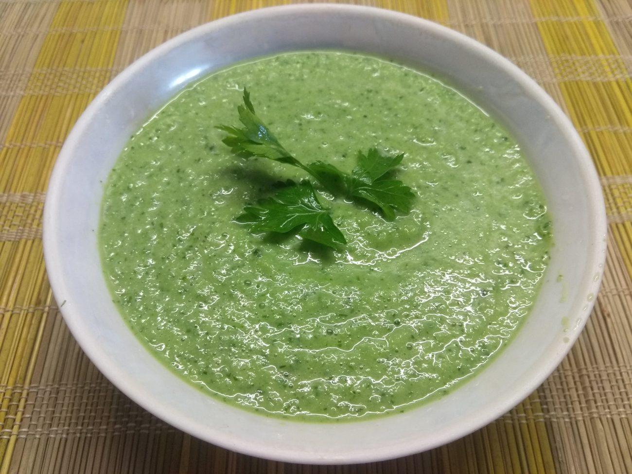 Суп для похудения из петрушки