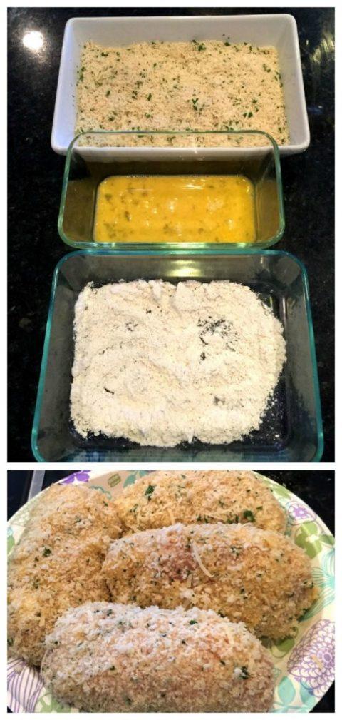Фото рецепта - Котлеты по-киевски, запеченные в духовке - шаг 9
