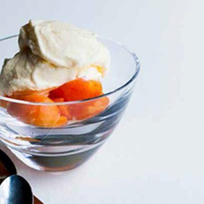 Мороженое с лимоном и йогуртом - рецепт с фото