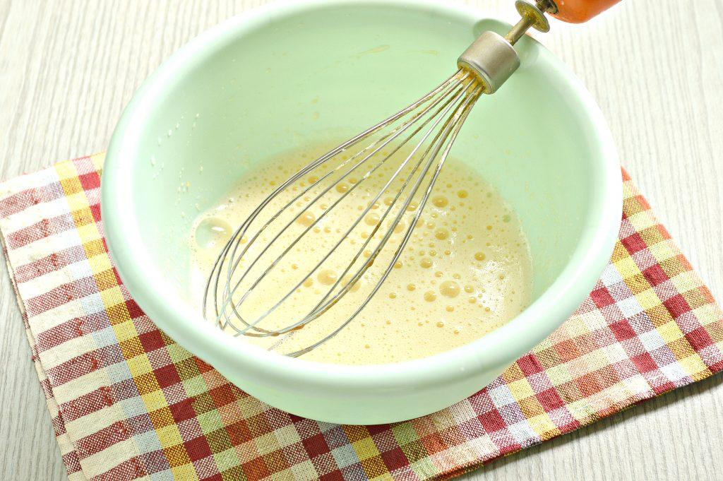 Фото рецепта - Заварные блины на сыворотке - шаг 2