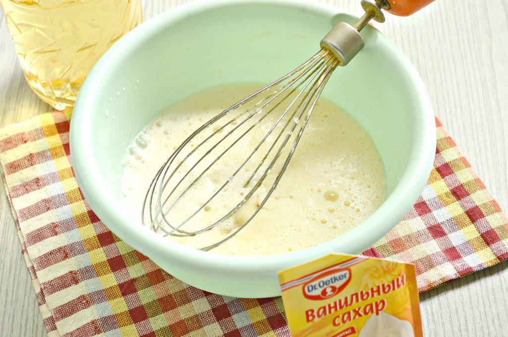 Фото рецепта - Заварные блины на сыворотке - шаг 3