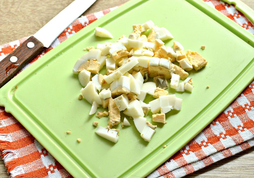 Фото рецепта - Картофельный салат с овощами и печенью - шаг 5
