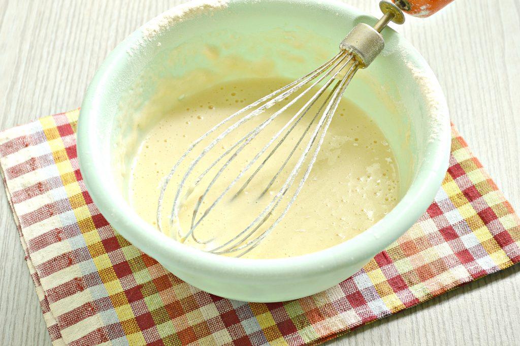 Фото рецепта - Заварные блины на сыворотке - шаг 5