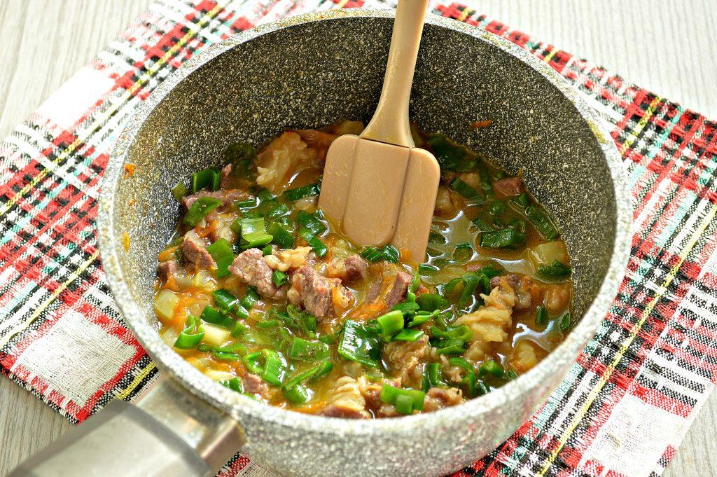 Фото рецепта - Рагу из говядины и кабачков - шаг 7