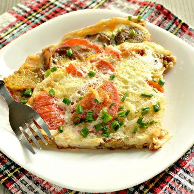 Баклажаны, жаренные с помидорами и яйцами - рецепт с фото