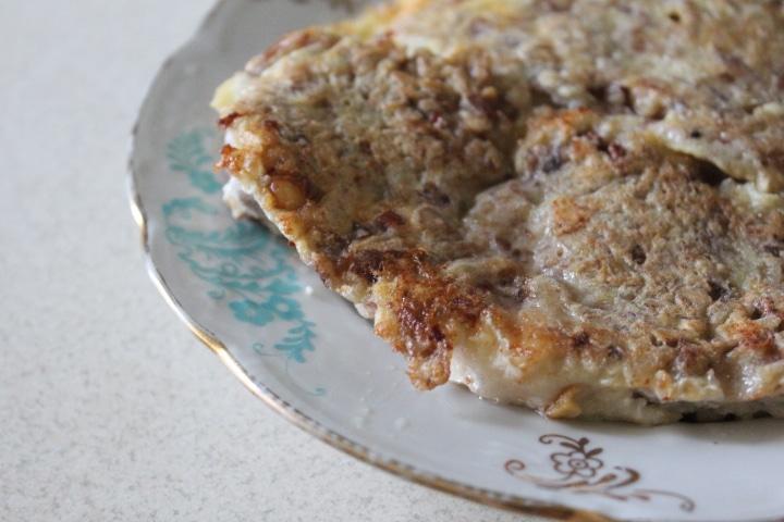 Фото рецепта - Жареный морской окунь в ореховой шубке - шаг 6