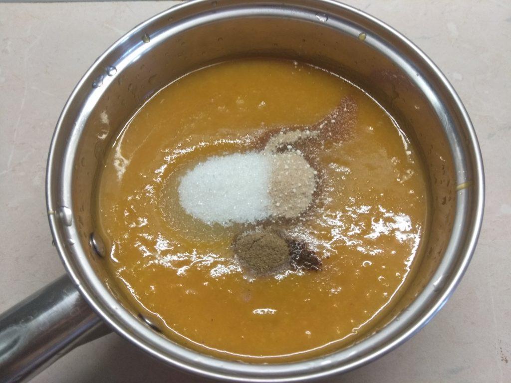 Фото рецепта - Пряный абрикосовый джем - шаг 3