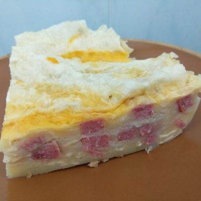 Фото рецепта - Картофельная лазанья с колбасой, лавашом и сыром (запеканка) - шаг 6
