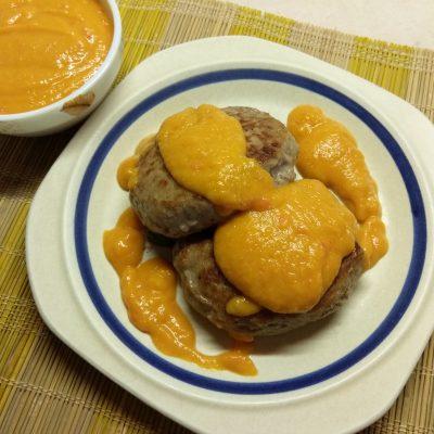 Острый абрикосовый соус к мясу - рецепт с фото