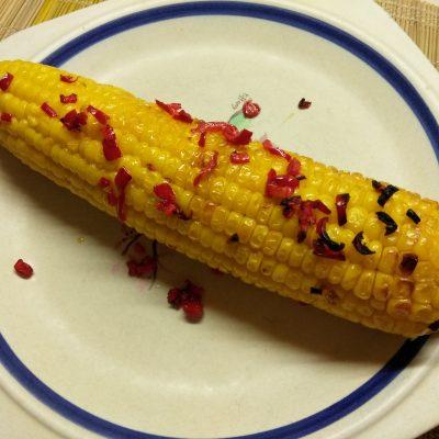 Запеченная кукуруза с перцем чили, в фольге - рецепт с фото