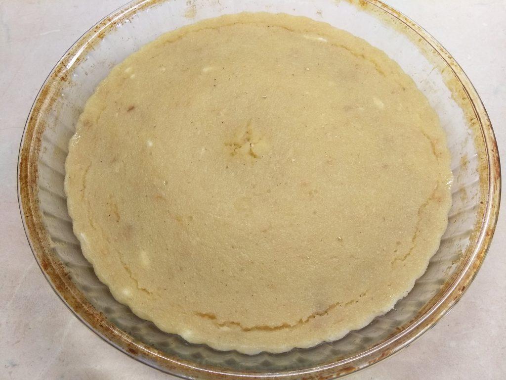 Фото рецепта - Яблочный манник за 10 минут - шаг 7