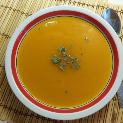Детский морковный крем-суп с шалфеем - рецепт с фото