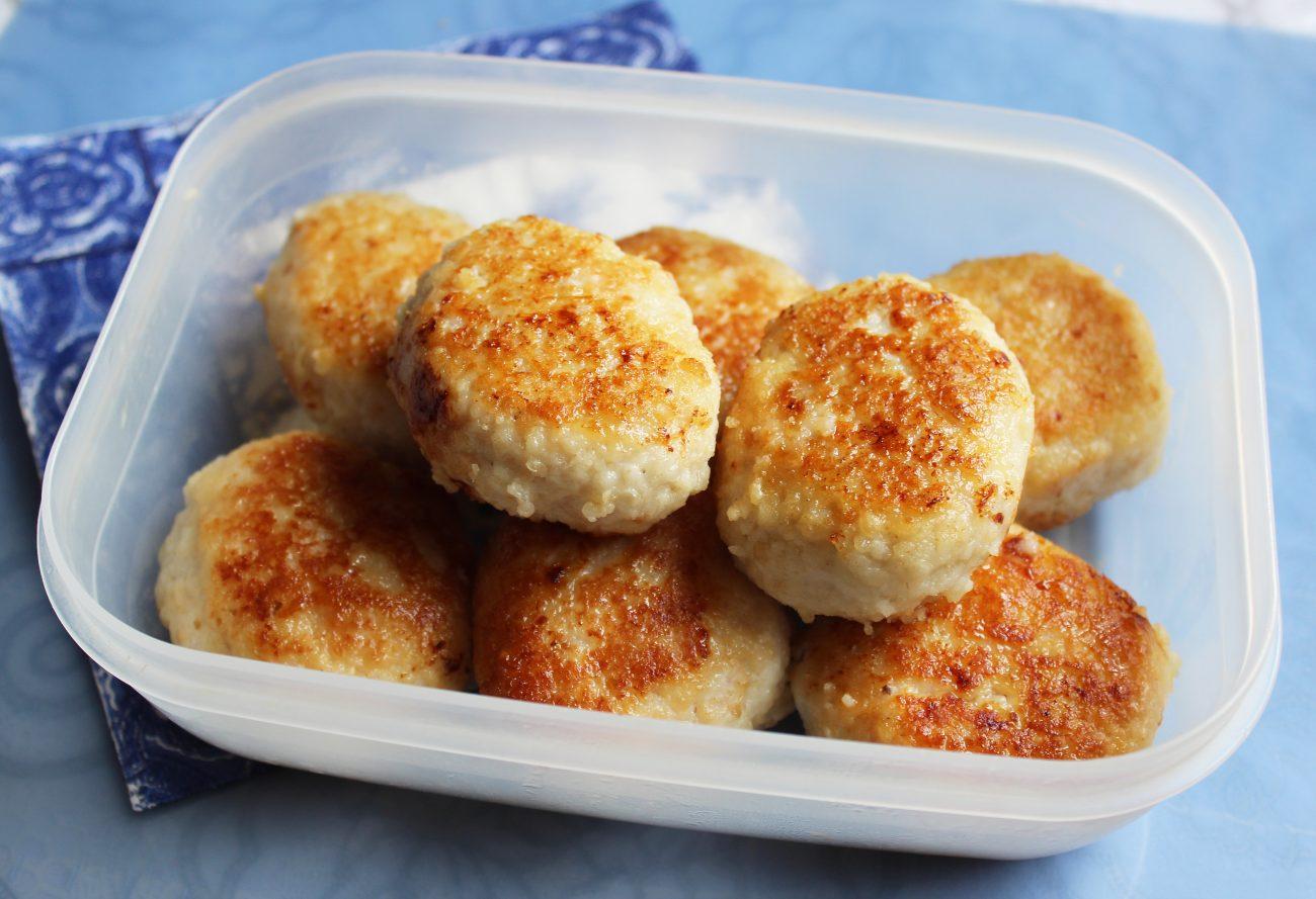 Курино-картофельные котлеты
