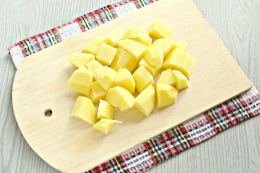 Фото рецепта - Картофель, тушенный с мексиканской овощной смесью и фаршем - шаг 1