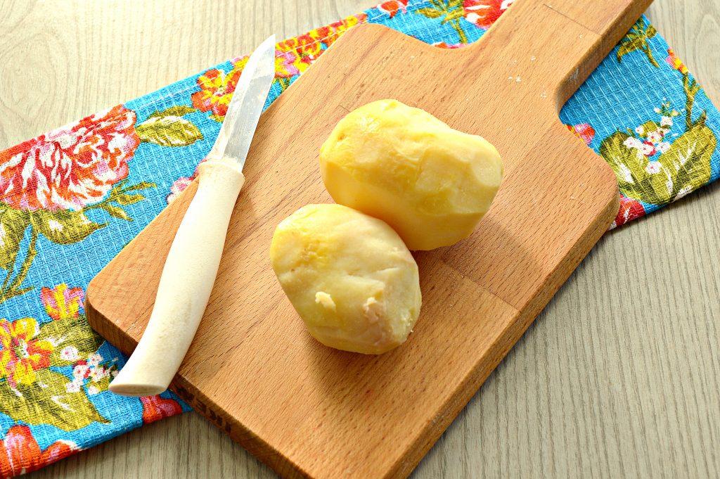 Фото рецепта - Картофельные оладьи из вареного картофеля - шаг 1