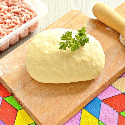 Заварное тесто для пельменей - рецепт с фото