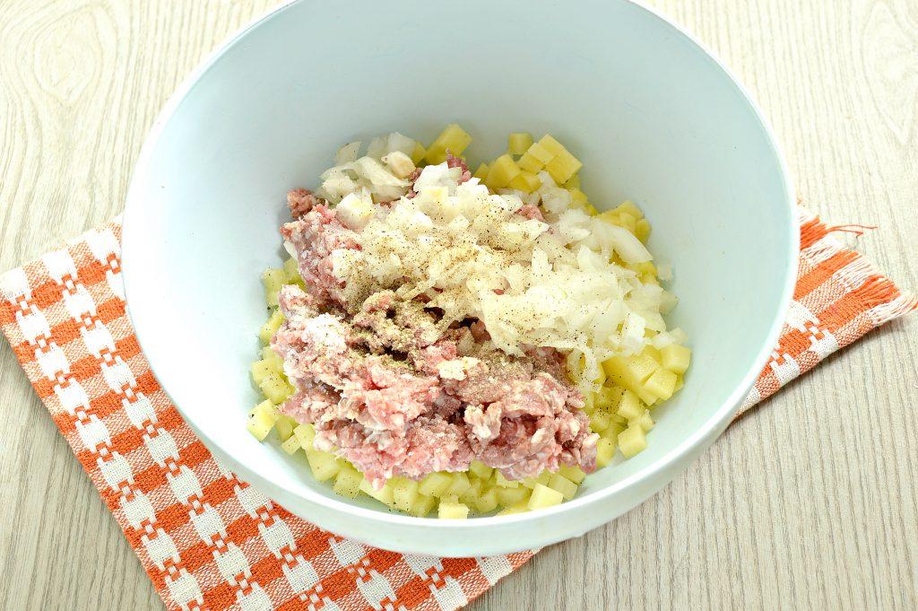 Фото рецепта - Ханум с картофелем и фаршем - шаг 2