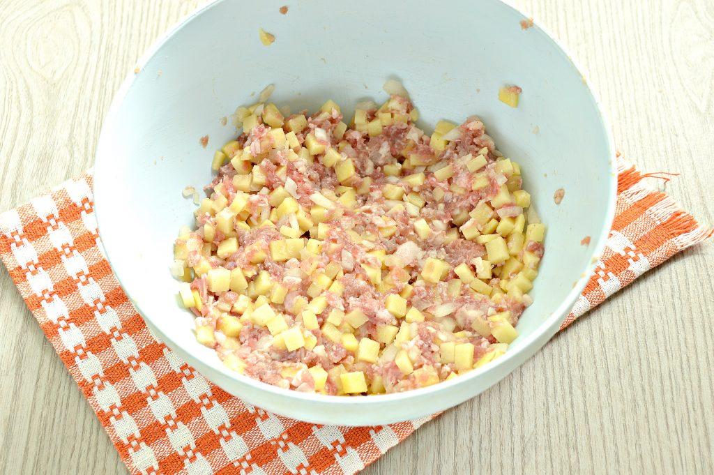 Фото рецепта - Ханум с картофелем и фаршем - шаг 3